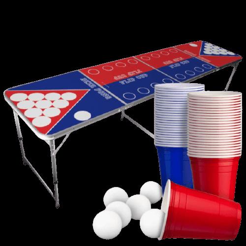 Beer_pong_bord_med_flip_cup_red_cups_og_bolde